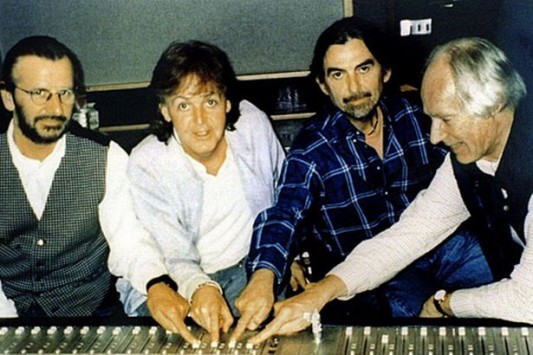 McCartney, Harrison, Starr, George Martin