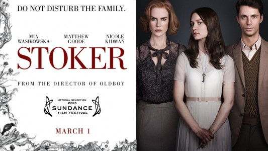 Stoker film banner