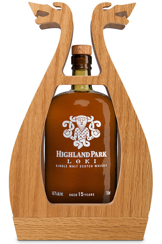 Loki Highland Park Single Malt Scotch Whisky Valhalla Collection Case