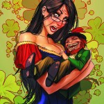 Grimm Fairy Tales St Patrick's Day Special 2013 Cover B by Stjepan Sejic