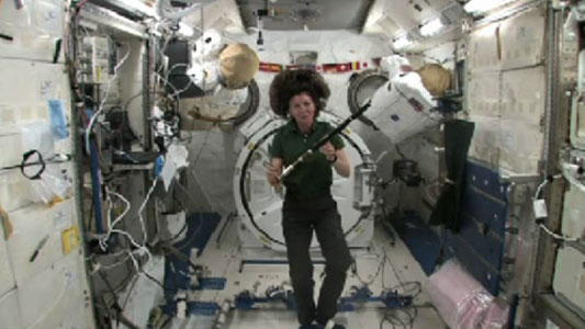 A St. Patrick's Day Message From The International Space Station