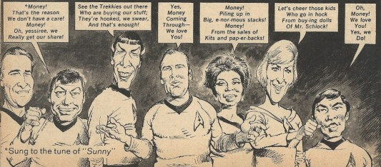 Mort Drucker Star Trek
