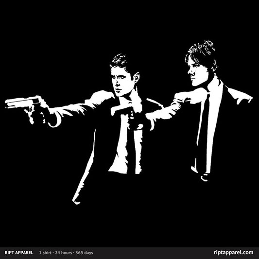 Supernatural Pulp Fiction Super Fiction Shirt
