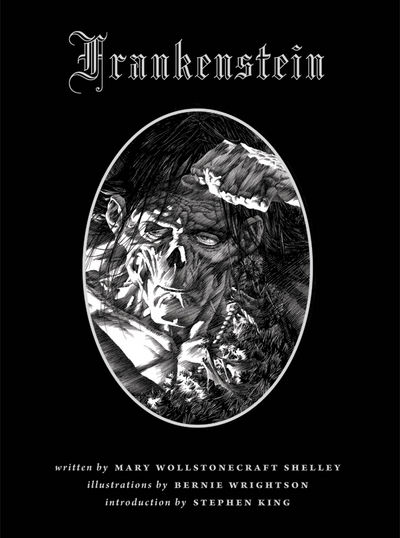 Bernie Wrightson's Illustrated Frankenstein HC