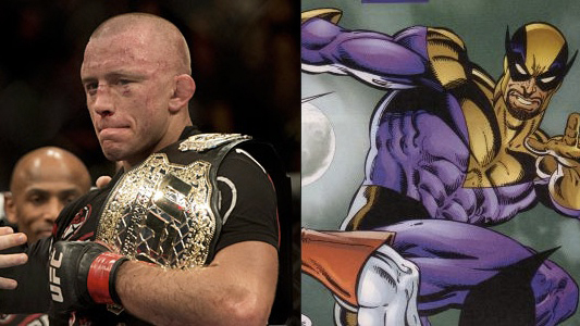 Georges St-Pierre as Batroc The Leaper in Captain America: The Winter Soldier
