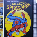 Origin of Spider-Man display