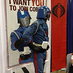 Cobra Commander cosplay