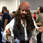 Captain Jack Sparrow cosplay