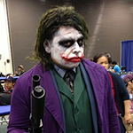 The Joker cosplay