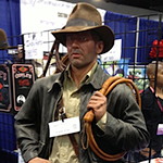 WonderCon 2013: Convention photos: Indiana Jones statue