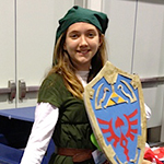 Link cosplay from Legend of Zelda