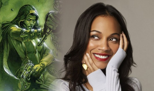 Zoe Saldana to play Gamora in Guardians of the Galaxy