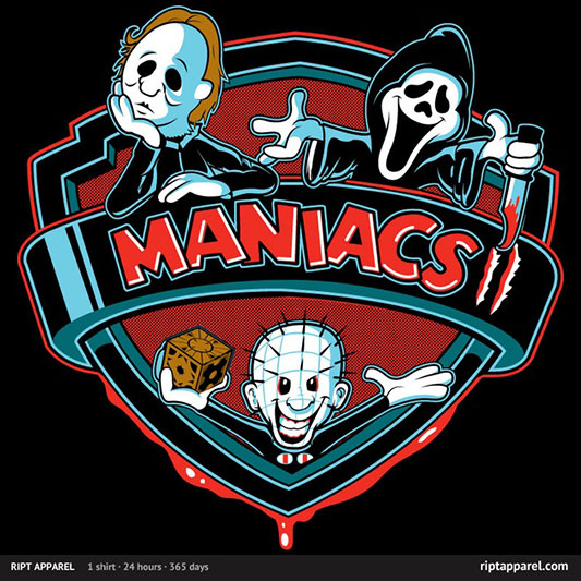 Pinhead, Michael Myers & Ghostface In MANIACS II