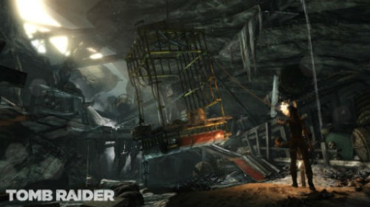 Tomb Raider (2013): Tomb screenshot