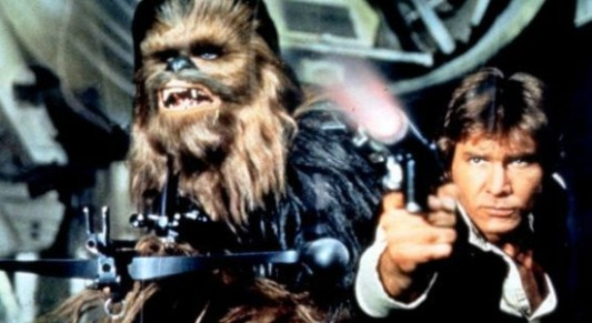 Star Wars Han Solo and Chewbacca Image