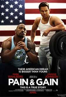 Pain & Gain Poster Official
