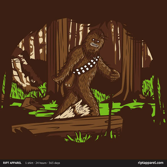 Star Wars The Bigfoot of Endor Shirt