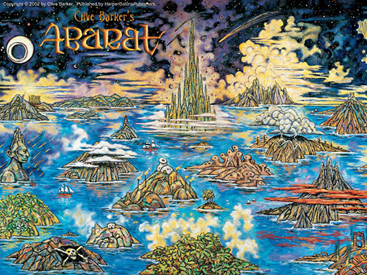 Clive Barker's Abarat - The Islands of Abarat