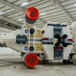 Must See Full Size 'Star Wars' X Wing Made With Over 5