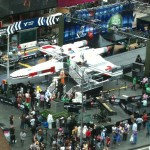 Full Size LEGO X-Wing In Time Square
