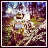 Cyclops Lego in Tree