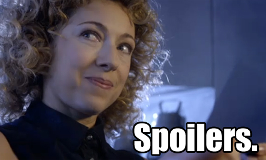 INCOMING DOCTOR WHO SPOILERS