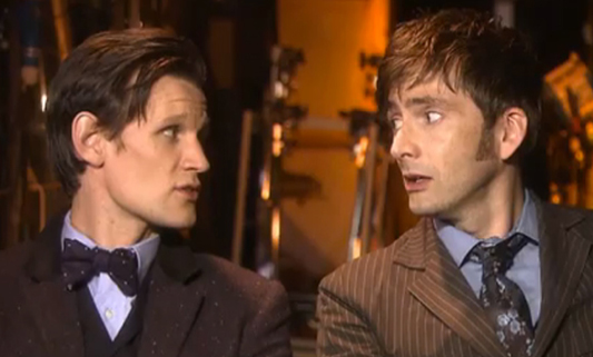 The Two Nu Doctors: Matt Smith and David Tennant - Doctor Who