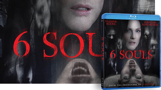 6 Souls Blu-ray giveaway banner
