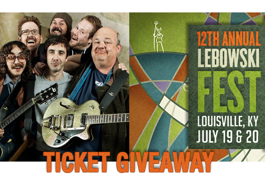 12th Annual Lebowski Fest ticket giveaway header