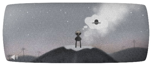 Google Doodle Commemorates Anniversary Of Roswell UFO Incident