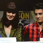 SDCC 2013: Divergent panel: Amy Newbold and Miles Teller