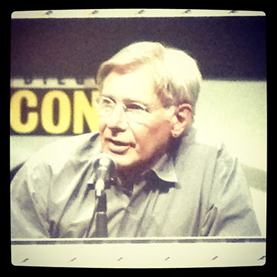 SDCC 2013 Ender's Game Panel With Harrison Ford