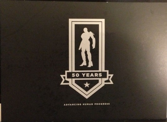 SDCC 2013: X-Men: Days of Future Past Trask Industries flyer front