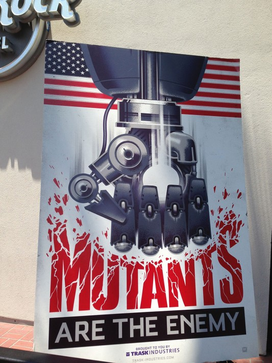 SDCC 2013: X-Men: Days of Future Past Trask Industries Sentinels poster