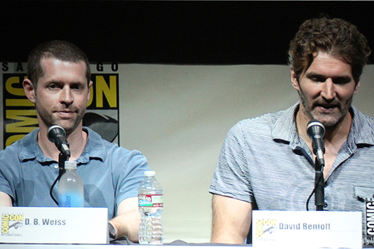SDCC 2013: Game of Thrones panel: David Benioff and D.B. Weiss