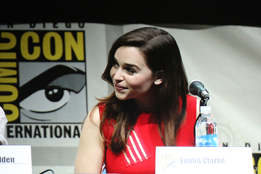 SDCC 2013: Game of Thrones panel: Emilia Clarke