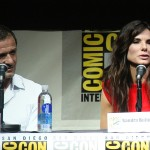 SDCC 2013: Gravity panel: producer David Heyman and Sandra Bullock