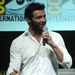 SDCC 2013: The Wolverine panel: Hugh Jackman 02