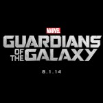 Guardians Of The Galaxy title card with date