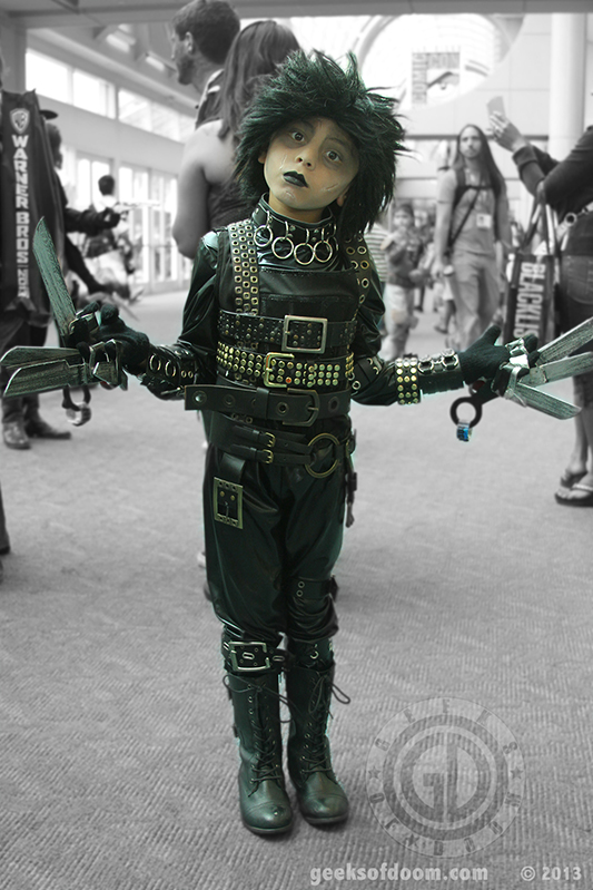 SDCC 2013: Cosplay: A very young, and awesome Edward Scissorhands