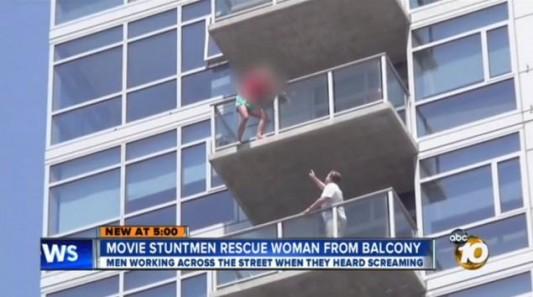 Suicidal Woman Threatens To Jump Near Comic-Con