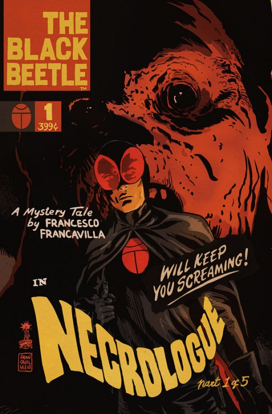 The Black Beetle: Necrologue #1 cover