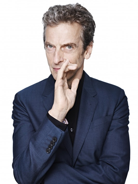 Peter Capaldi Doctor Who official photo