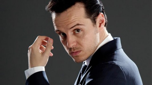 Andrew Scott as James Moriarty on Sherlock