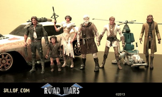 Sillof's Patton Oswalt-Commissioned Road Wars