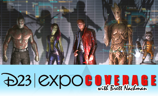 D23 Expo 2013: Marvels Guardians of the Galaxy banner