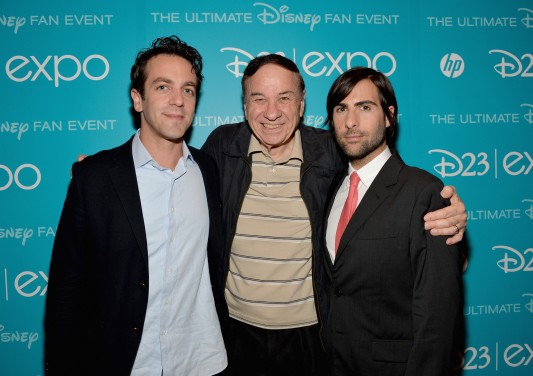 Disney D23 Expo: B.J. Novak, Richard Sherman, Jason Schwartzman