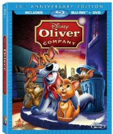 Oliver & Company Blu-ray Cover