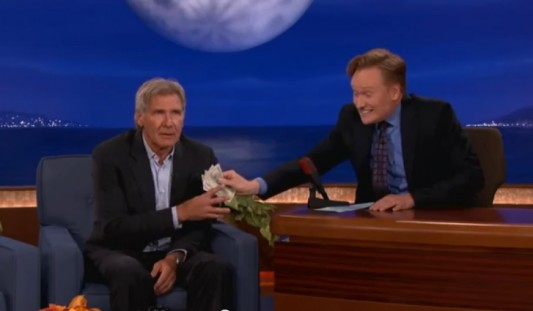 Harrison Ford On Conan