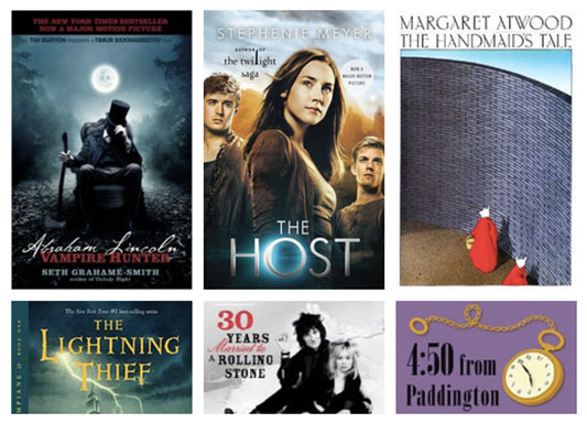 ebook deal: The Handmaid's Tale, The Lightning Thief, The Host